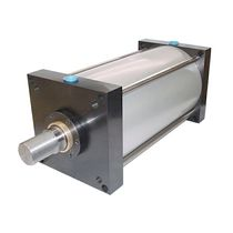 Pneumatic cylinder / double-acting / tie-rod / for demanding applications