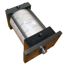 Pneumatic cylinder / hydraulic / double-acting / tie-rod