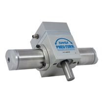 Rotary actuator / pneumatic / rack-and-pinion / double-acting