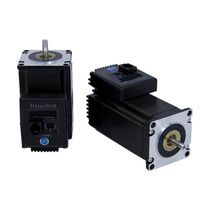 DC motor / stepper / with integrated driver and coder / NEMA 23