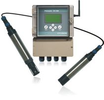 Combined pH, ion and conductivity meter