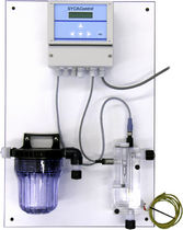 Chlorine analyzer / ozone / temperature / for integration