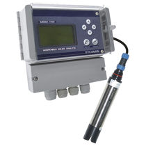 Suspended solids analyzer / panel-mounted