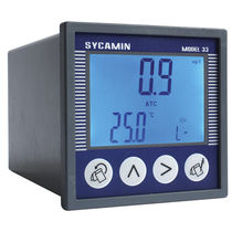 Oxygen analyzer / temperature / for integration / automatic