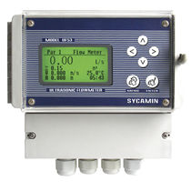 Open-channel flow meter / for liquids / wireless / clamp-on