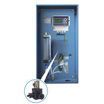 Turbidity analyzer / for drinking water / panel-mounted / in-line