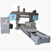 Band sawing machine / graphite / high-accuracy / high-speed