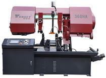 Band sawing machine / metal / for tubes / for sheet metal