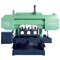 Band sawing machine / for copper / for tubes / with cooling system
