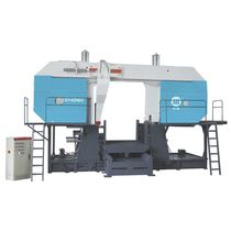 Band saw / metal / for pipes / with cooling system