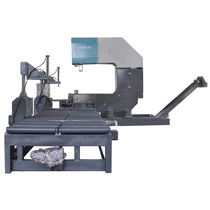 Band sawing machine / for aluminum / for tubes / for profiles