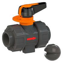 Ball valve / lever / electric / dosing