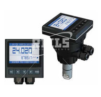 Turbine flow meter / for liquids / insertion / IP65