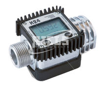Turbine flow meter / for liquids / digital / with display