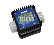 Turbine flow meter / for liquids / digital / rugged