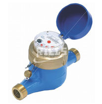 Positive displacement counter / dry dial / multi-jet vane wheel / water