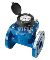 Positive displacement counter / Woltman type turbine / water