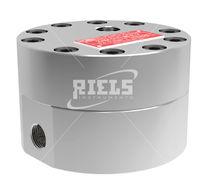 Gear flow meter / oval gear / for fuel