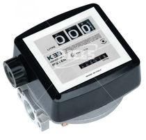 Nutating disc flow meter / for liquids / aluminum / ATEX
