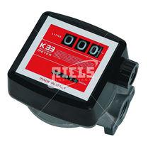 Nutating disc flow meter / for liquids / aluminum
