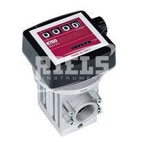 Oval gear flow meter / for liquids