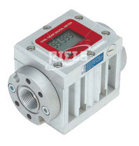 Oval gear flow meter / for fuel / for oil / compact