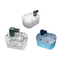 Electronic counter / oval wheel / for viscous liquids