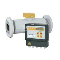 Ultrasonic flow meter / for conductive liquids
