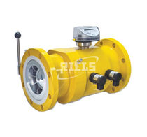 Positive displacement counter / electromechanical / compact / gas