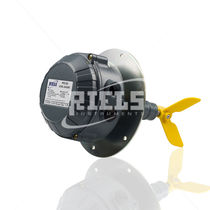 Rotary paddle level switch / for solids / stainless steel / explosion-proof