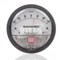Analog pressure gauge / differential / for air / for gas
