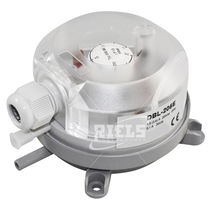 Gas pressure switch / differential / for air conditioning / industrial