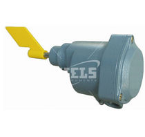 Rotary paddle level switch / for solids / stainless steel / compact