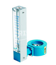 Variable-area flow meter / for liquids / compact / direct-reading