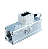 Thermal flow switch / for air / for gas / stainless steel