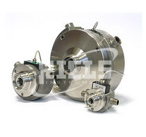 Nutating disc flow meter / for liquids / insertion / stainless steel