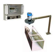 Ultrasonic flow meter / for liquids / open-channel / top-mounted