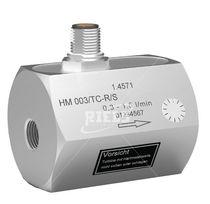Turbine flow meter / for liquids / compact / in-line