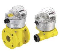 Turbine flow meter / for gas / in-line / aluminum