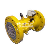 Positive displacement counter / electromechanical / gas