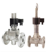 2/2-way magnetically-operated valve / gas / for corrosive liquids