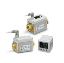 Electromagnetic flow meter / for water / compact / digital