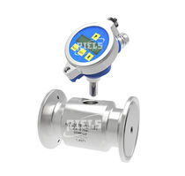 Turbine flow meter / for liquids / for water / for oil