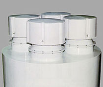 Air filter / particulate / vent / for hoppers
