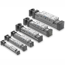 Linear actuator / electric / rodless
