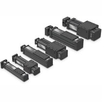 Linear actuator / electric / rodless / screw