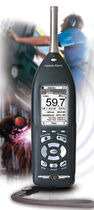 Integrating sound level meter / class 1 / data logging / digital