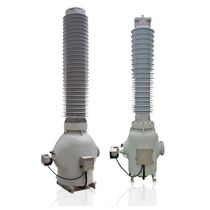Instrument transformer / dry / SF6 gas-insulated / floor-standing
