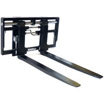 Heavy-duty fork positioner