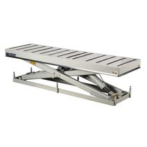 Column type lift table / hydraulic / roller